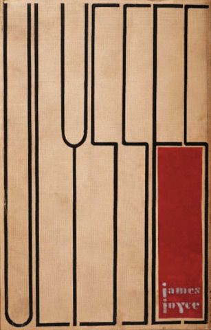 Ulysses, the jacket, cover/binding and interior design were all produced by Ernst Reich - 1934