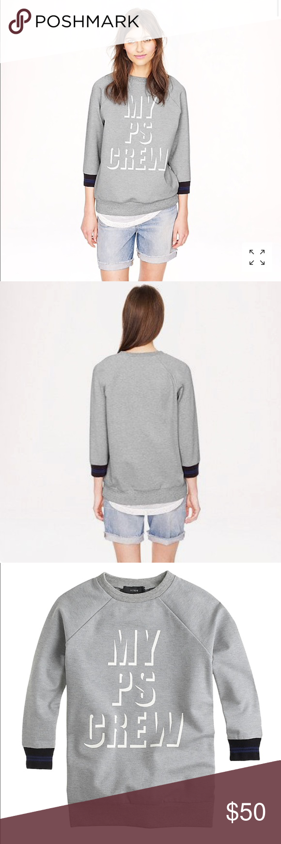 J.Crew X Public School Sweatshirt Worn Lightly. ABSOLUTELY