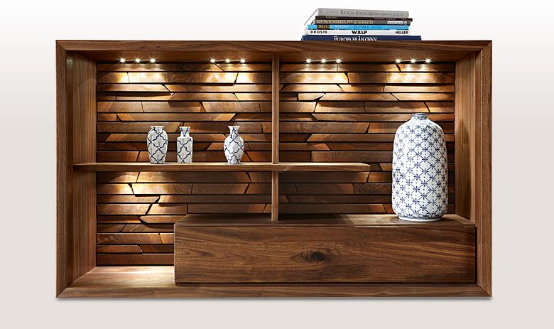 Wohnwand Hersteller venjakob fino esszimmer massivholz sideboard echtholz massivmöbel