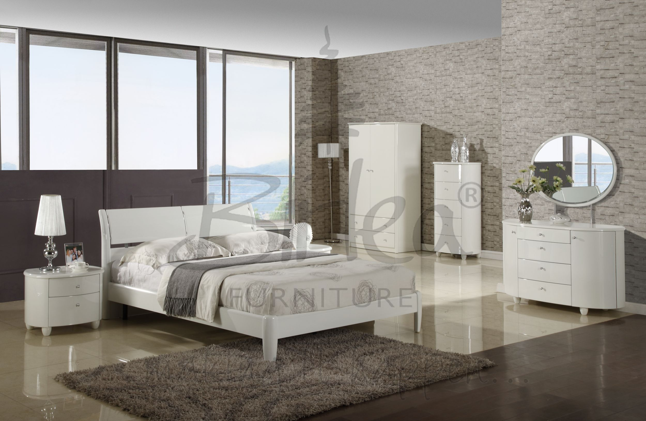 Our aztec white bedroom range is the perfect colour palette for your