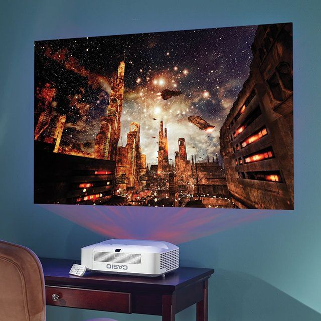 Mountable Projector For A Small Room