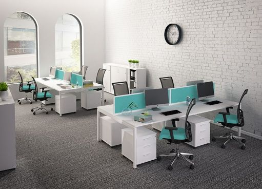 Desking System Nova U Slide Narbutas Workspace Design Seat Design Perfect Chair