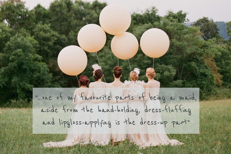 A Glamorous And Sophisticated Bridesmaids High Street ...