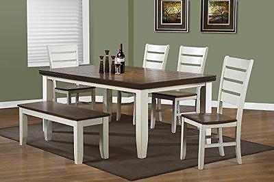 Monarch Specialties Antique White/Oak Veneer Dining Table 42 x 60 x 78-Inch https://t.co/7CiyW1X7qs https://t.co/R9DHTyo0zB