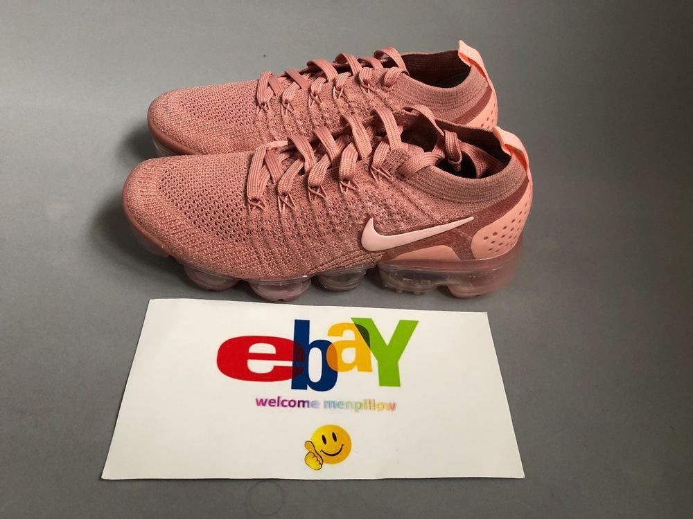 65b9d67371 Nike Air VaporMax FLYKNIT 2 Women's Running Shoes Rust Pink 942843-600 #Nike  #RunningShoes