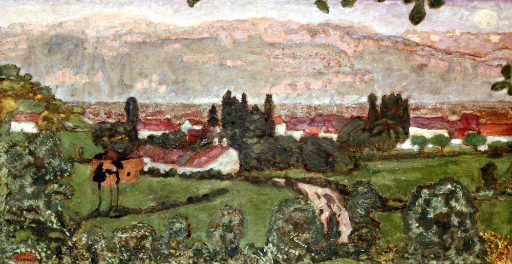 Panoramic View (Dauphiné) / Pierre Bonnard - 1894