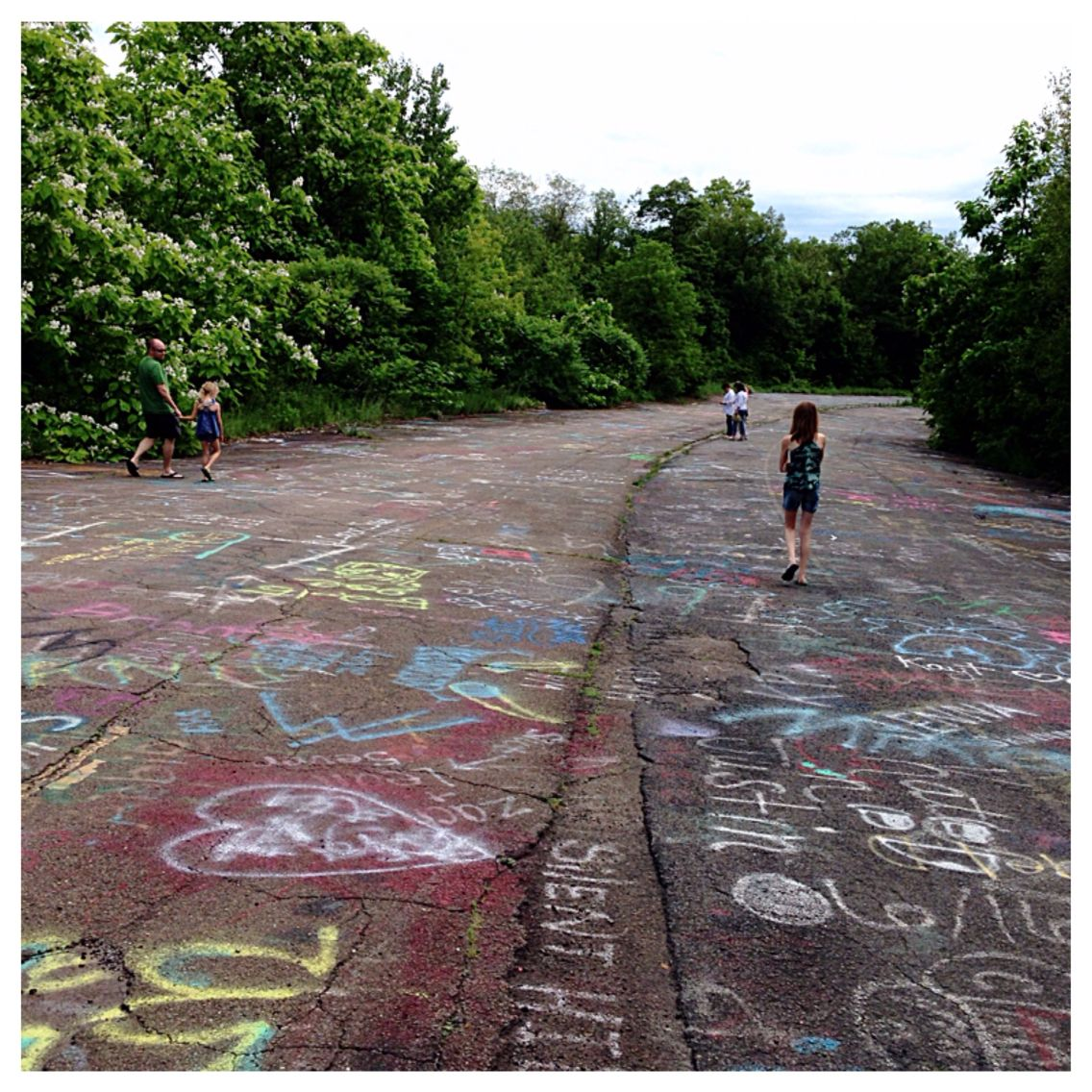 Abandoned Buildings In Centralia Pa: Decommissioned Section Of PA Route 61 That Was Destroyed