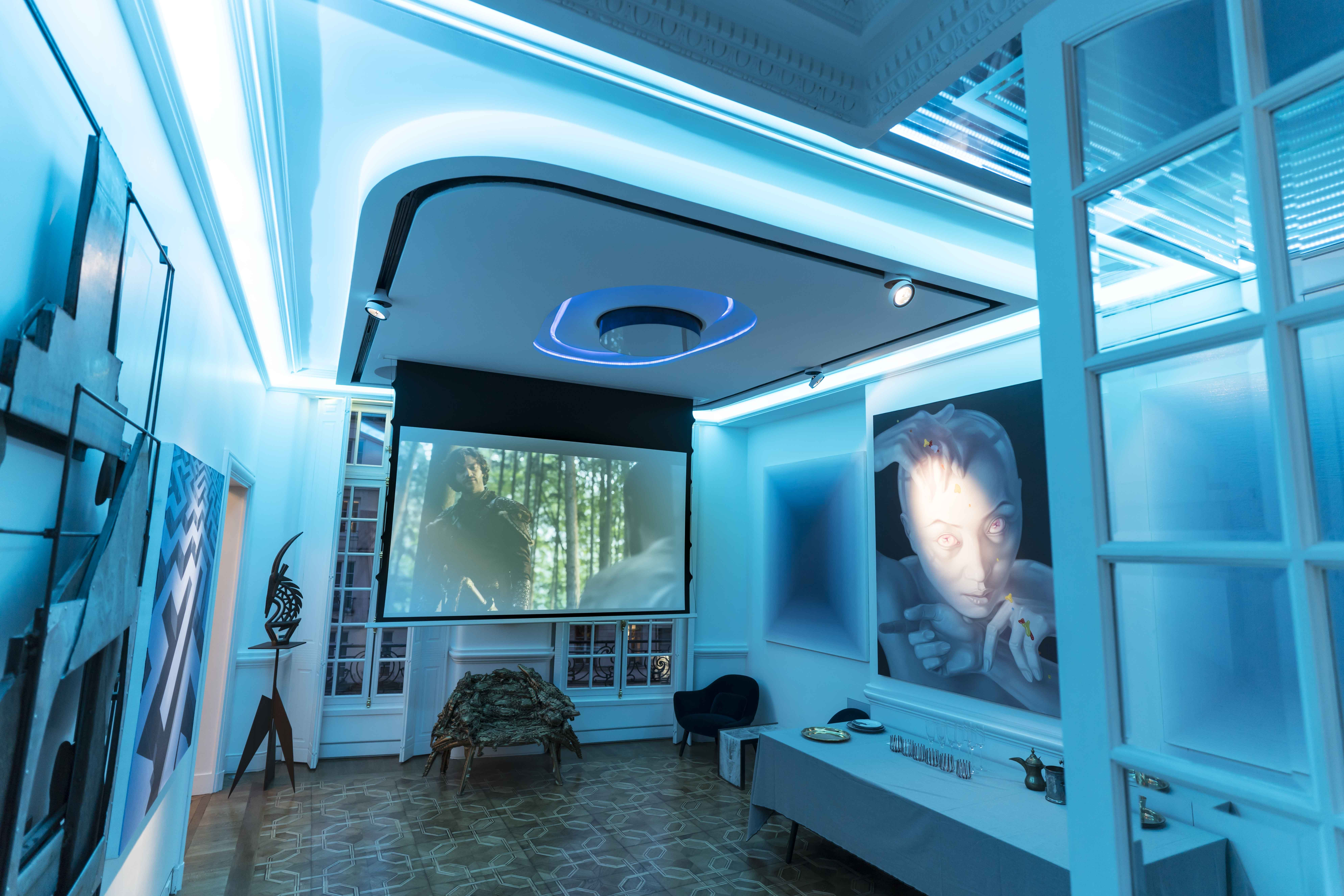 Installation Art&sound Paris Screenresearch , Jbl Synthesis, Stealth ...