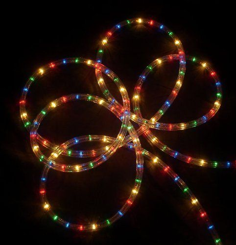 27\u0027 Multi-Color Indoor/Outdoor Christmas Rope Lights - Multi