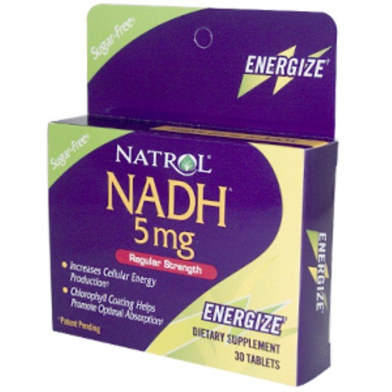 Natrol, NADH、通常の強さ、5mg、30錠 Convenience store