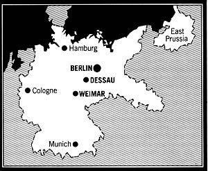 Image result for BAUHAUS MAP