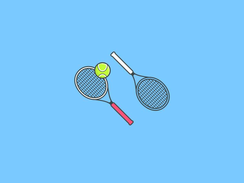 Tennis Icon By Tanya Anokhina Tennis Icon Tennis Racket