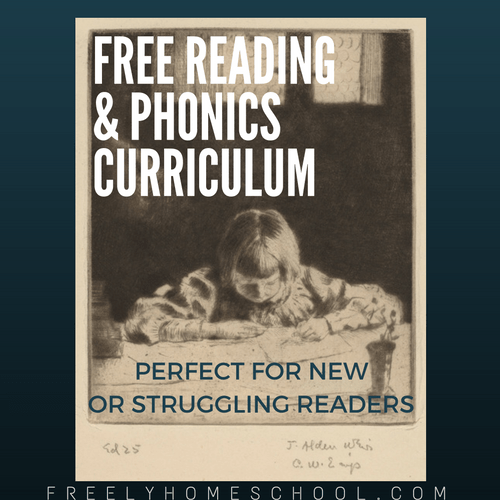 Free Reading & Phonics Program – perfect for beginning or ...