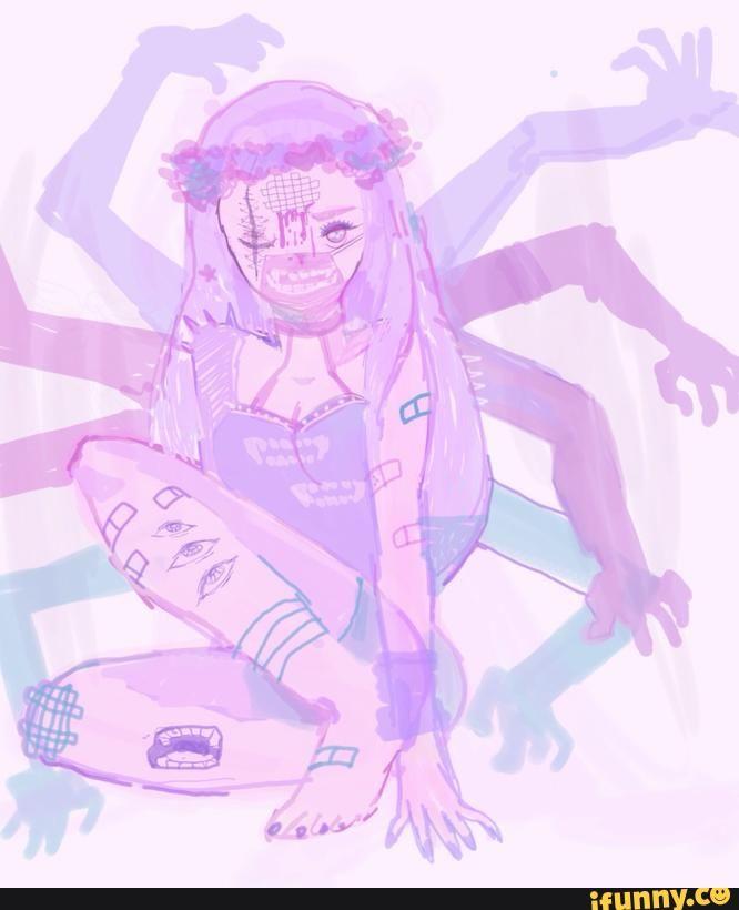 Pastel Gore By Emily Imrich Creepy Cute Anime Pixel Art