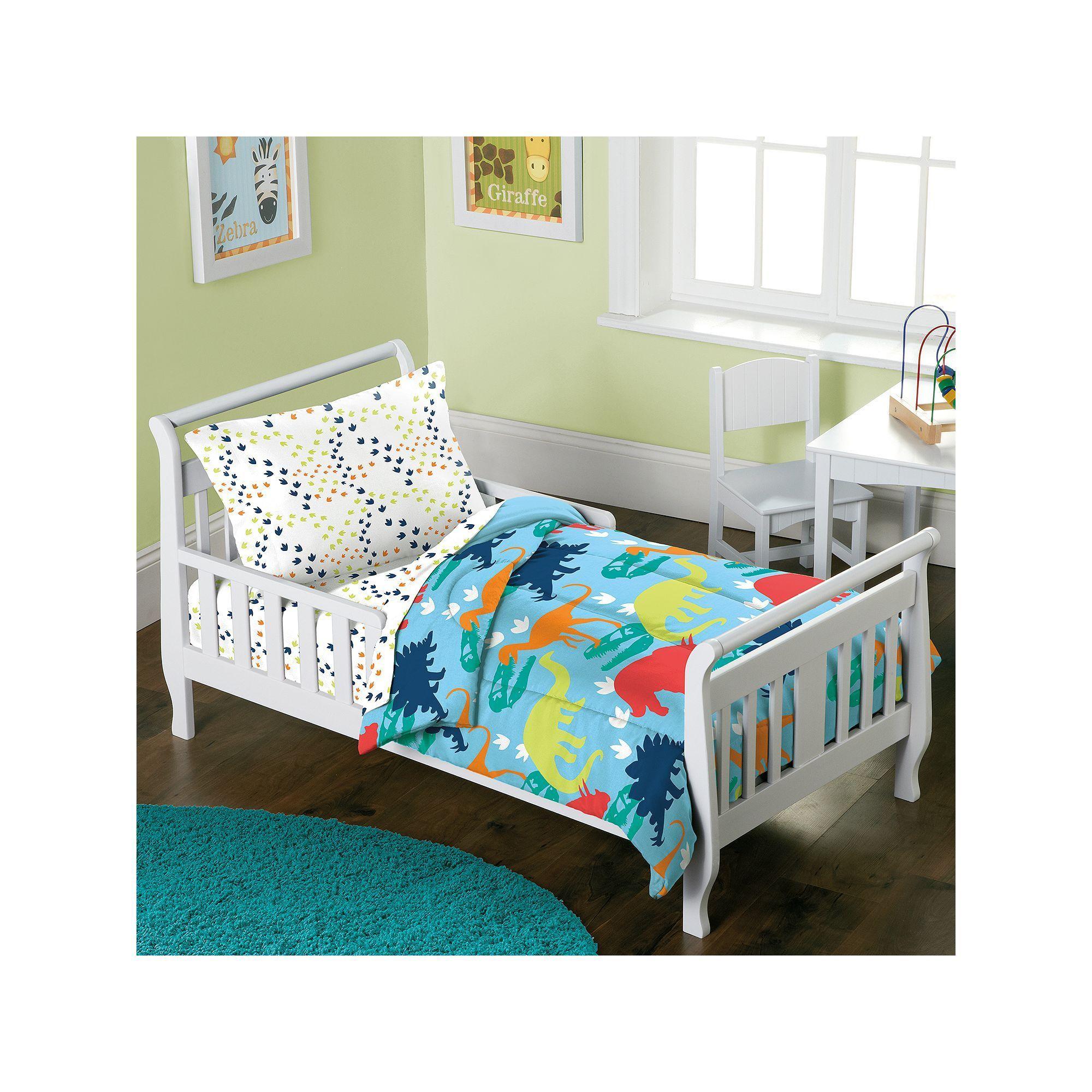 Dream Factory Dinosaur 4-pc. Bed Set - Toddler, Blue   Bed sets, PC ...