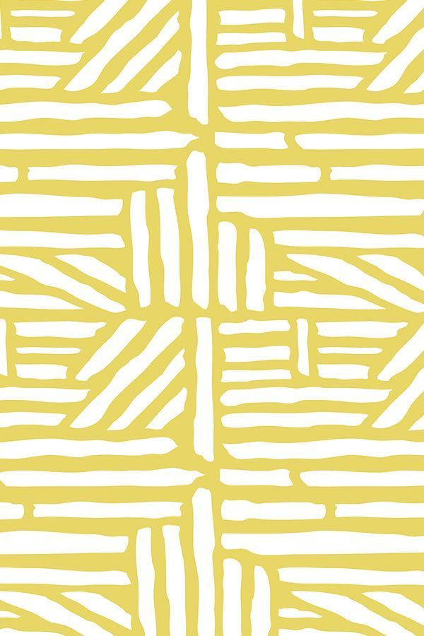 Colorful fabrics digitally printed by Spoonflower - Driftwood - Geometric Citron Yellow