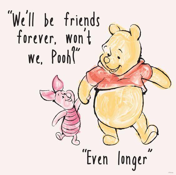 6 Times You Knew Winnie the Pooh = Friendship #Goals   Verse, Freundschaft und Geburtstage