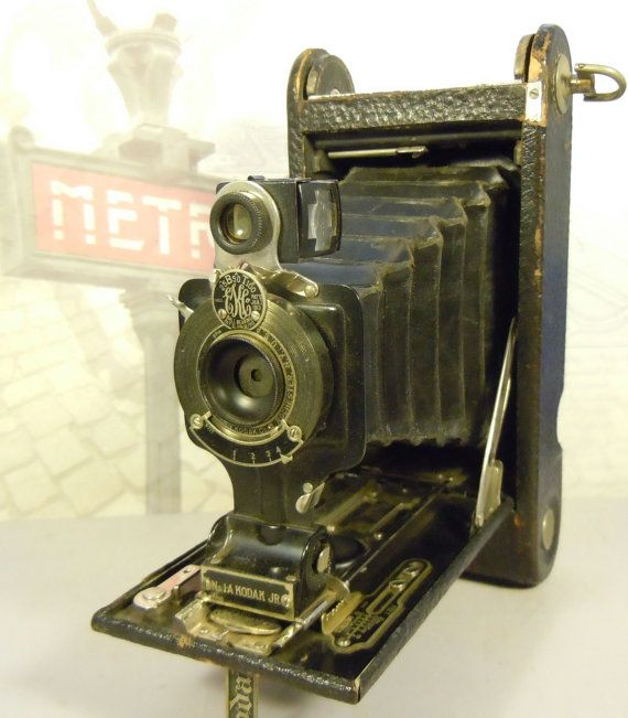 1913 Eastman Kodak Junior 1 A Autographic Film Folding Camera Vintage Cameras Photography Vintage Kodak Camera Folding Camera