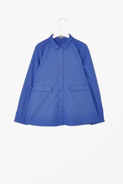 Cotton A-line shirt