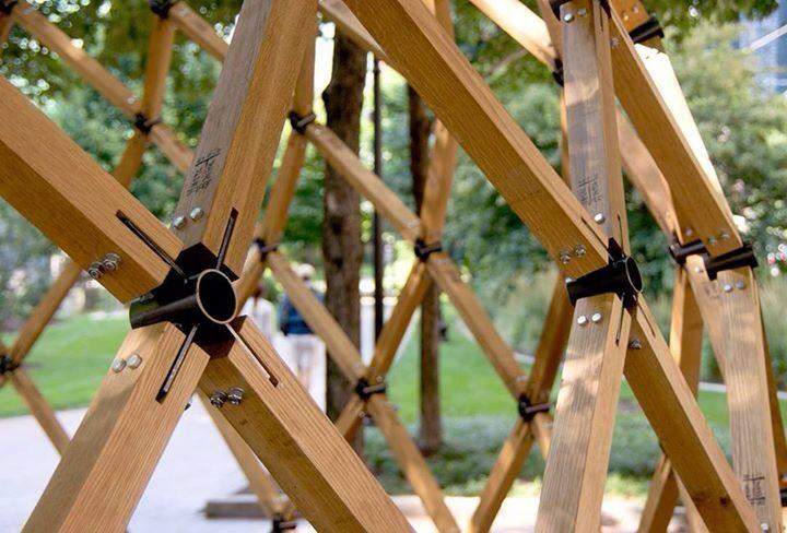 Wood And Steel Estructuras De Madera Domos Geodesicos Casa En Forma De Domo