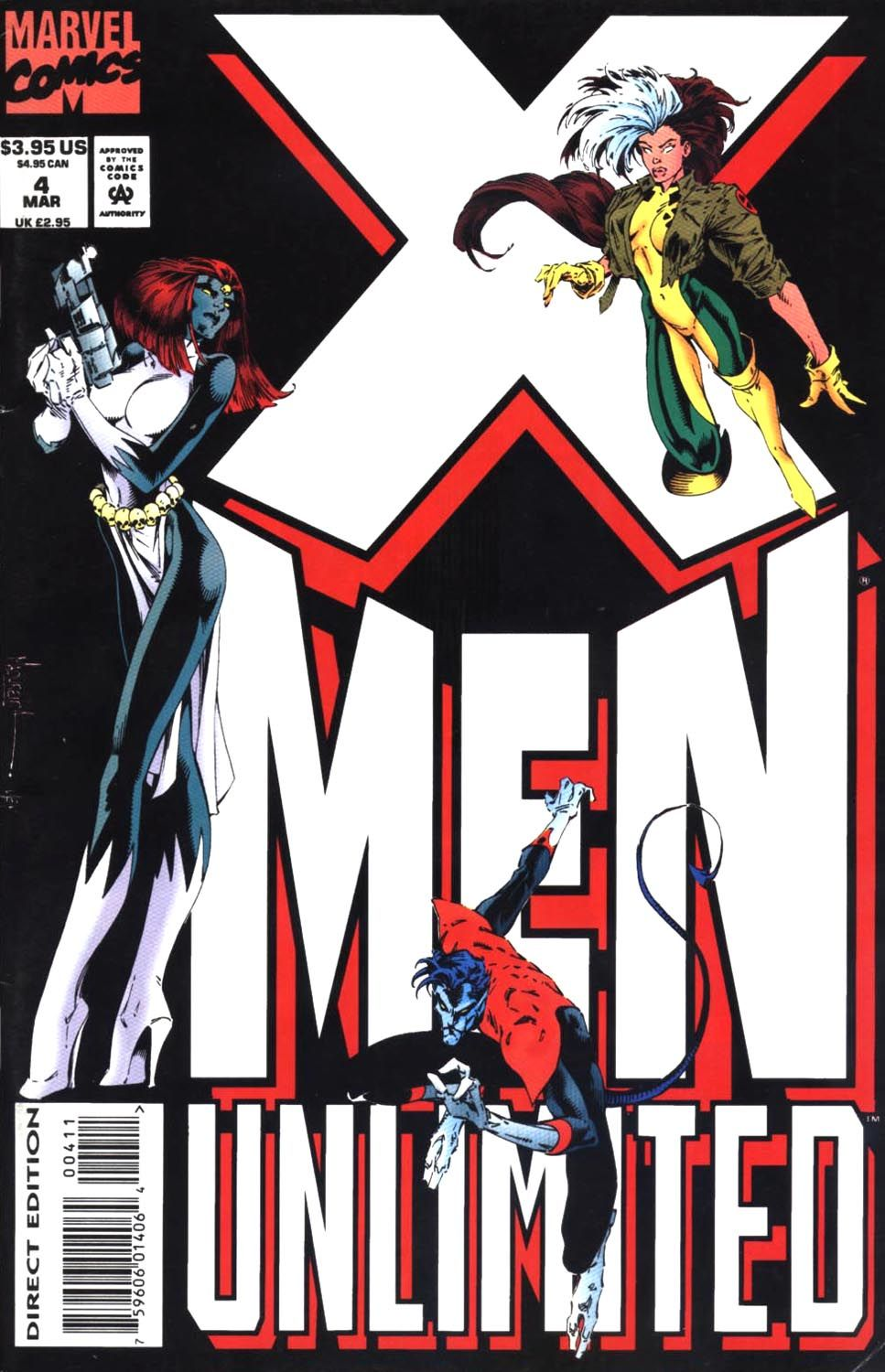 X Men Unlimited 1993 Issue 4 Read X Men Unlimited 1993 Issue 4 Comic Online In High Quality X Men Comic Book Covers Comics