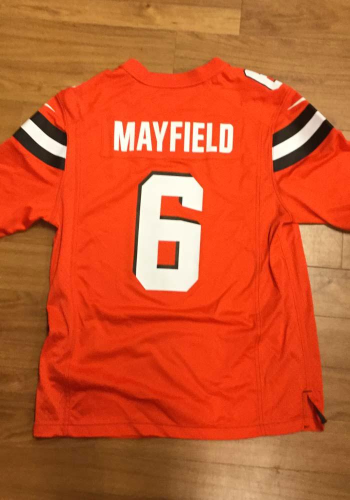 Baker Mayfield Nike Cleveland Browns Mens Orange 2019