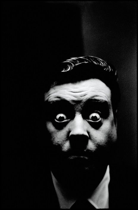 Elliott Erwitt USA. New York. Jackie GLEASON. 1944.