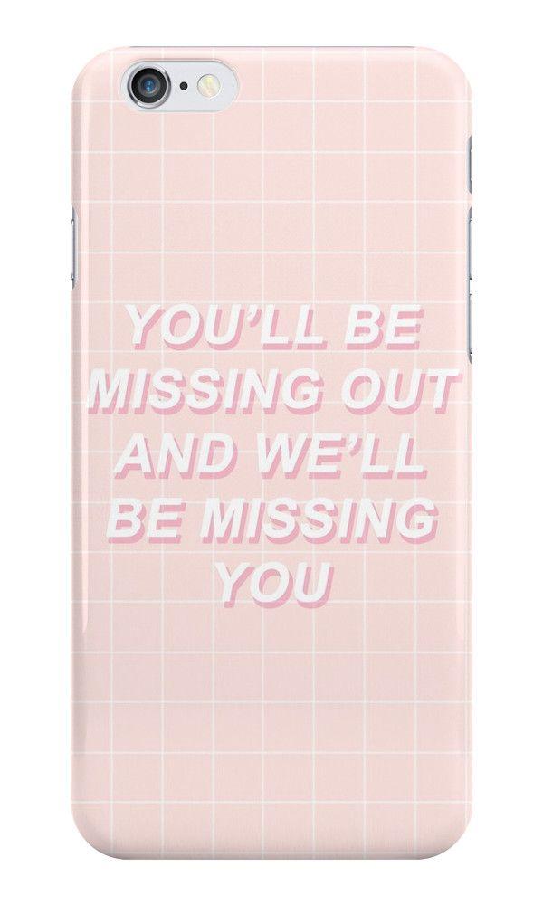 Lyric i ll be missing you lyrics : All Time Low Missing You Lyrics by impalecki   case   Pinterest ...