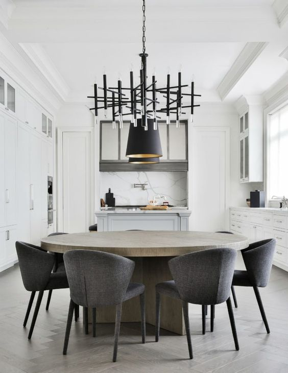Savvy Favorites Contemporary Modern Round Dining Room Tables The Savvy Heart Round Dining Room Modern Round Dining Room Modern Round Dining Room Table