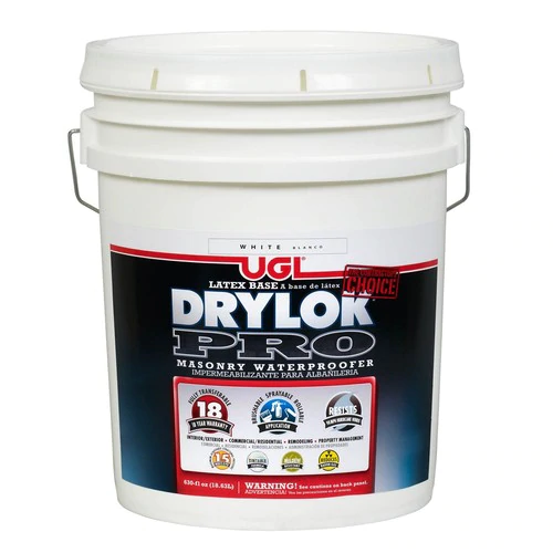Drylok Off White Flat Waterproofer Actual Net Contents 630 Fl Oz At Lowes Com Waterproofers Basement Waterproofing Diy White Flats