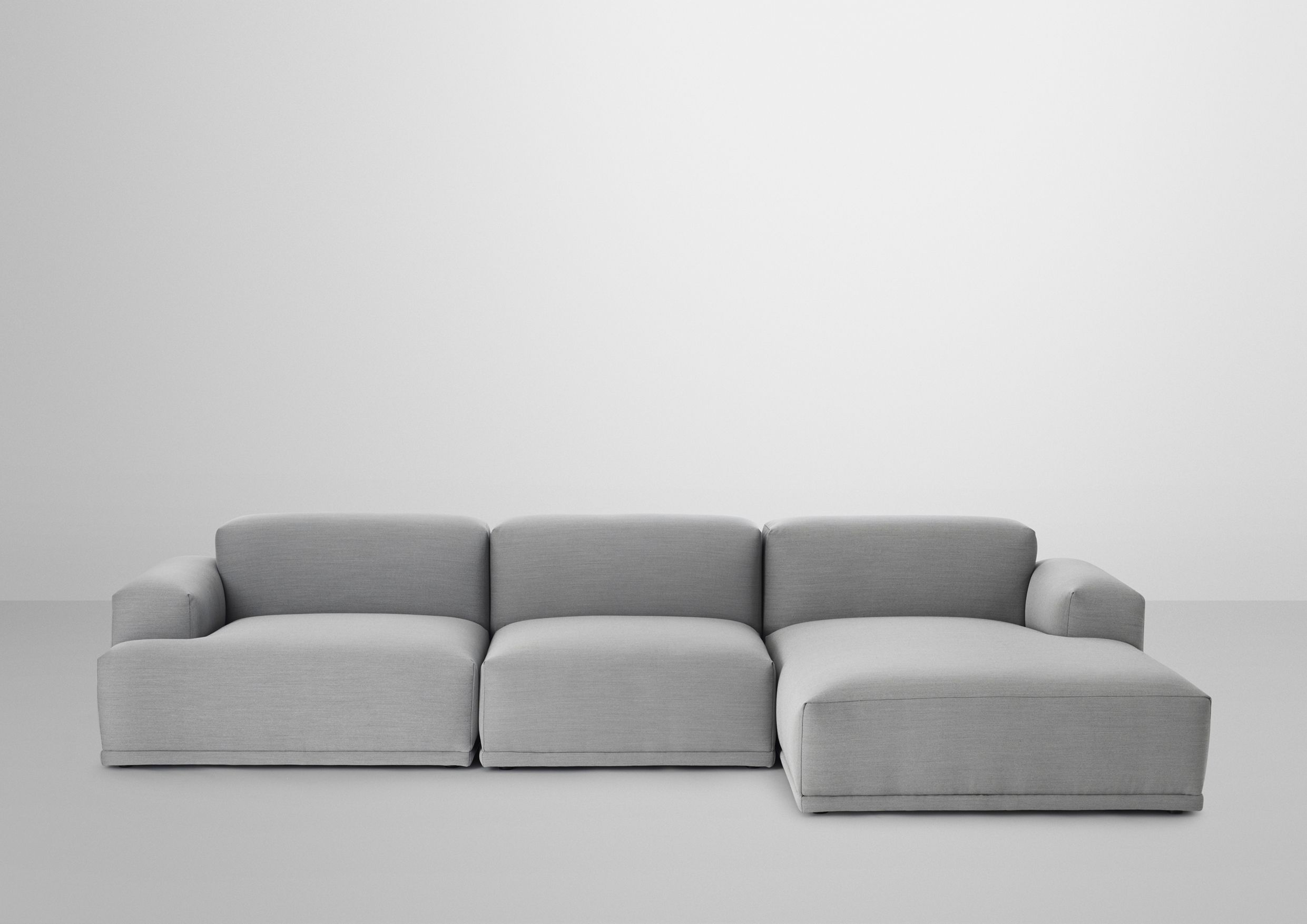 Connect Lounge Steelcuttrio133 Lightgrey Jpg Modern Sofa Couch Sofa Sectional Sofa