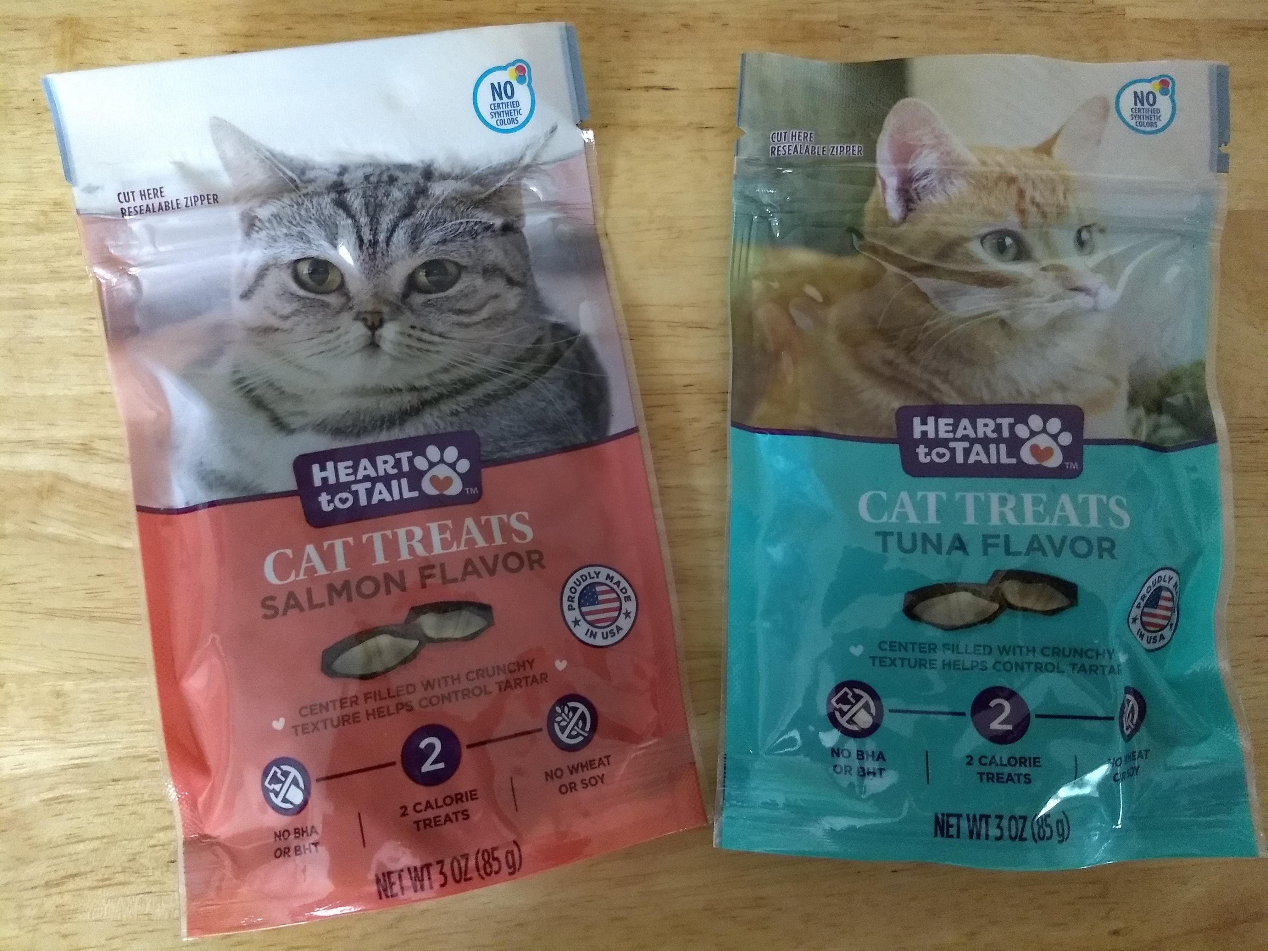 Heart To Tail Cat Treats Aldi Reviewer Cat Treats Tuna Cat Treats Salmon Cat