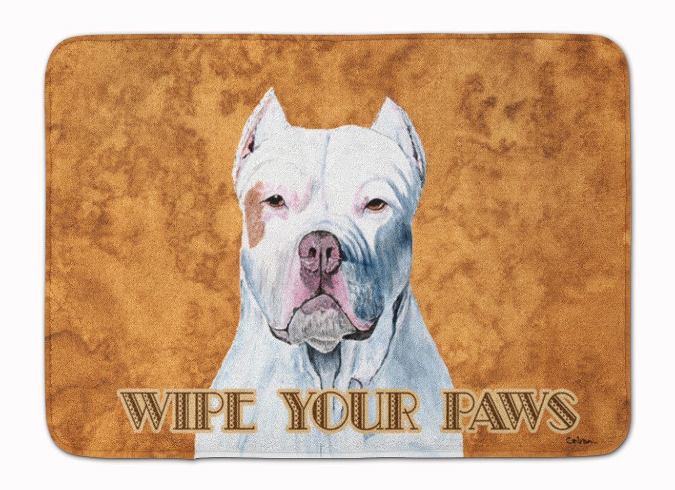 Pit Bull Wipe your Paws Machine Washable Memory Foam Mat SC9130RUG