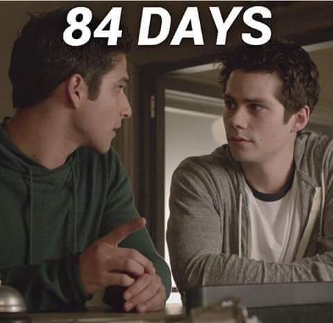 Teen Wolf Season 6 - 84 days