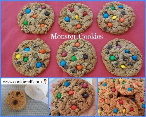 Gluten free monster cookies perfect for cookie gift baskets bake gluten free monster cookies perfect for cookie gift baskets bake sales negle Image collections