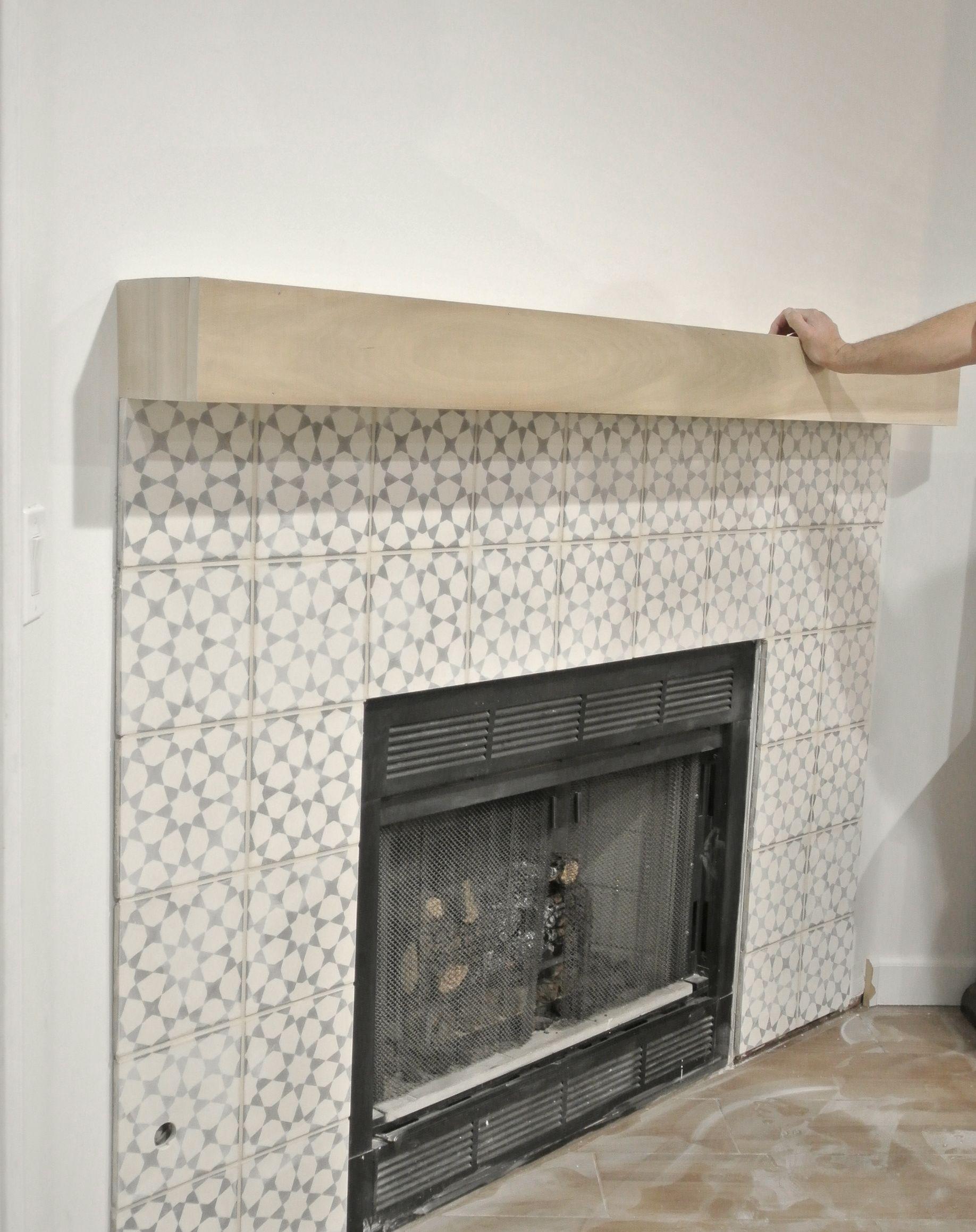DIY Fireplace Makeover Diy fireplace, Fireplace remodel