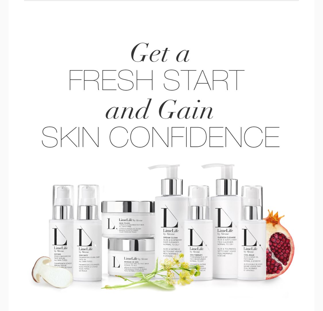 Try Limelife Skin Care Collections Fresh Start Includes Cleanser Moisturizer Skin Conf All Natural Skin Care Free Skin Care Products Paraben Free Products