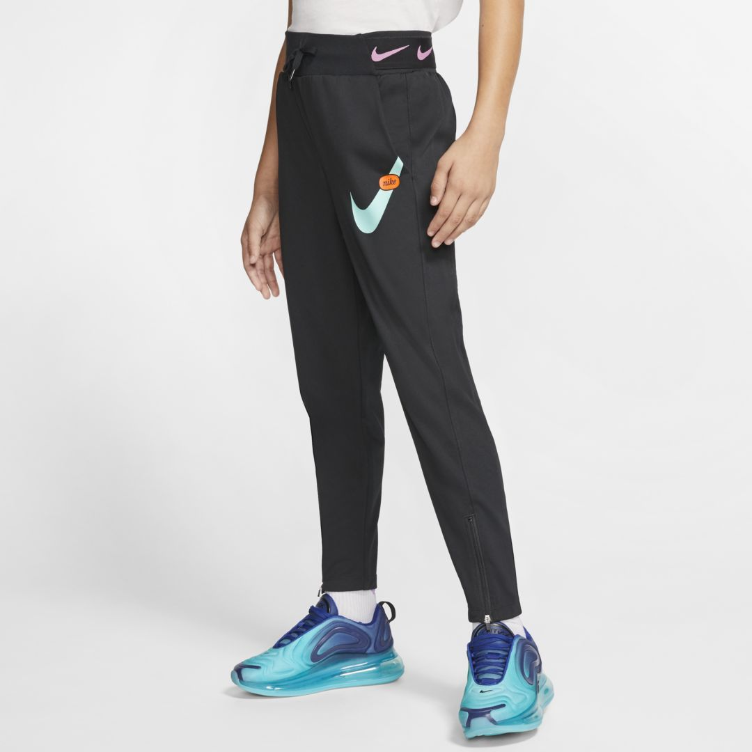 new cheap new styles amazing price Nike Sportswear Big Kids (Girls) Pants (Black) | Girls pants ...