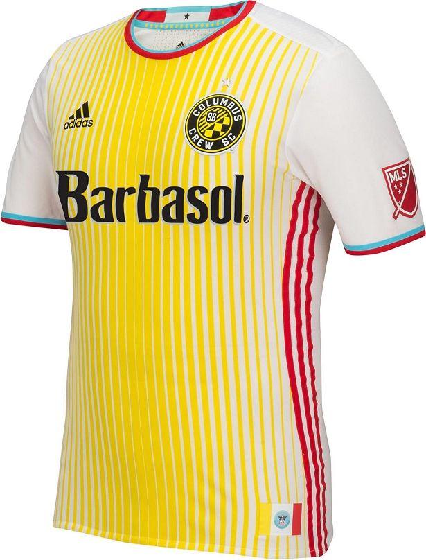 ea269bf244 Adidas lança camisa reserva do Columbus Crew para a MLS 2016 - Show de  Camisas Mais