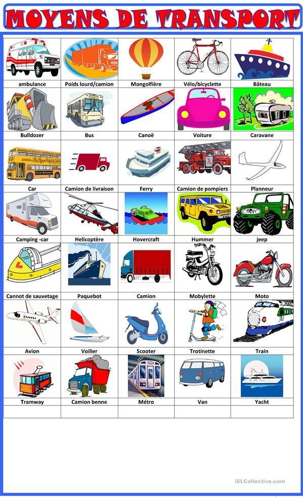 Moyens De Transport Moyen De Transport Transport Fle
