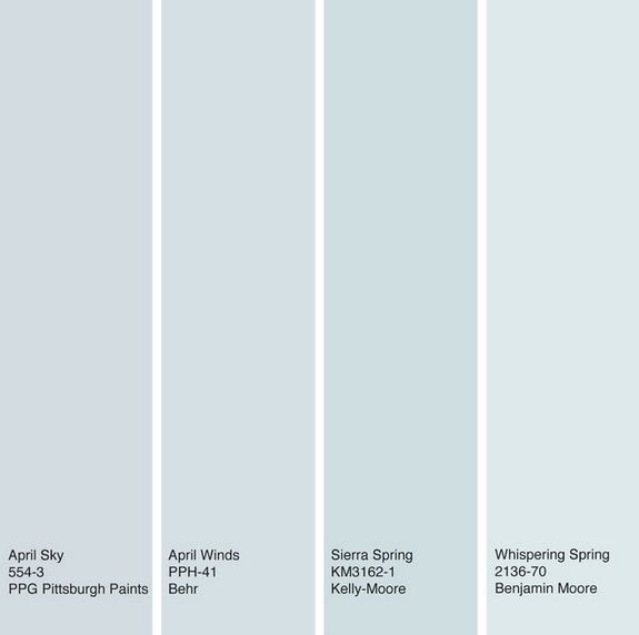 Houzz Color Of The Week April Sky Blue See How To Use This