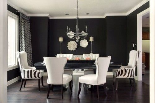 36+ Grey and white dining room decor ideas