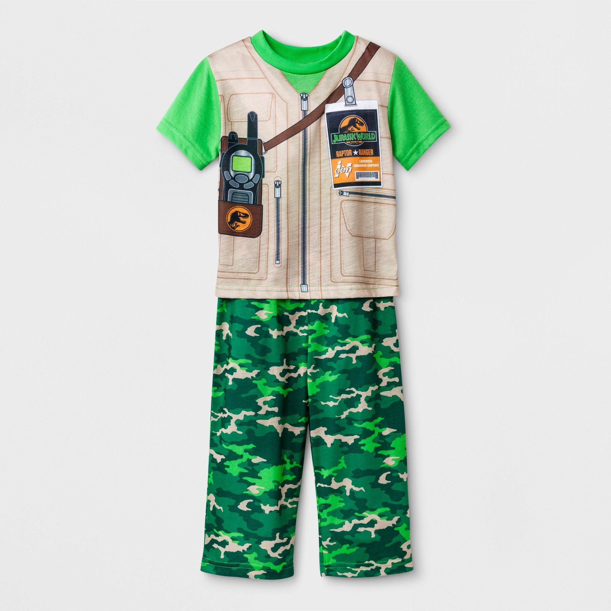 Toddler Boys  Jurassic World 2pc Pajama Set - Green 5T  3d149add8