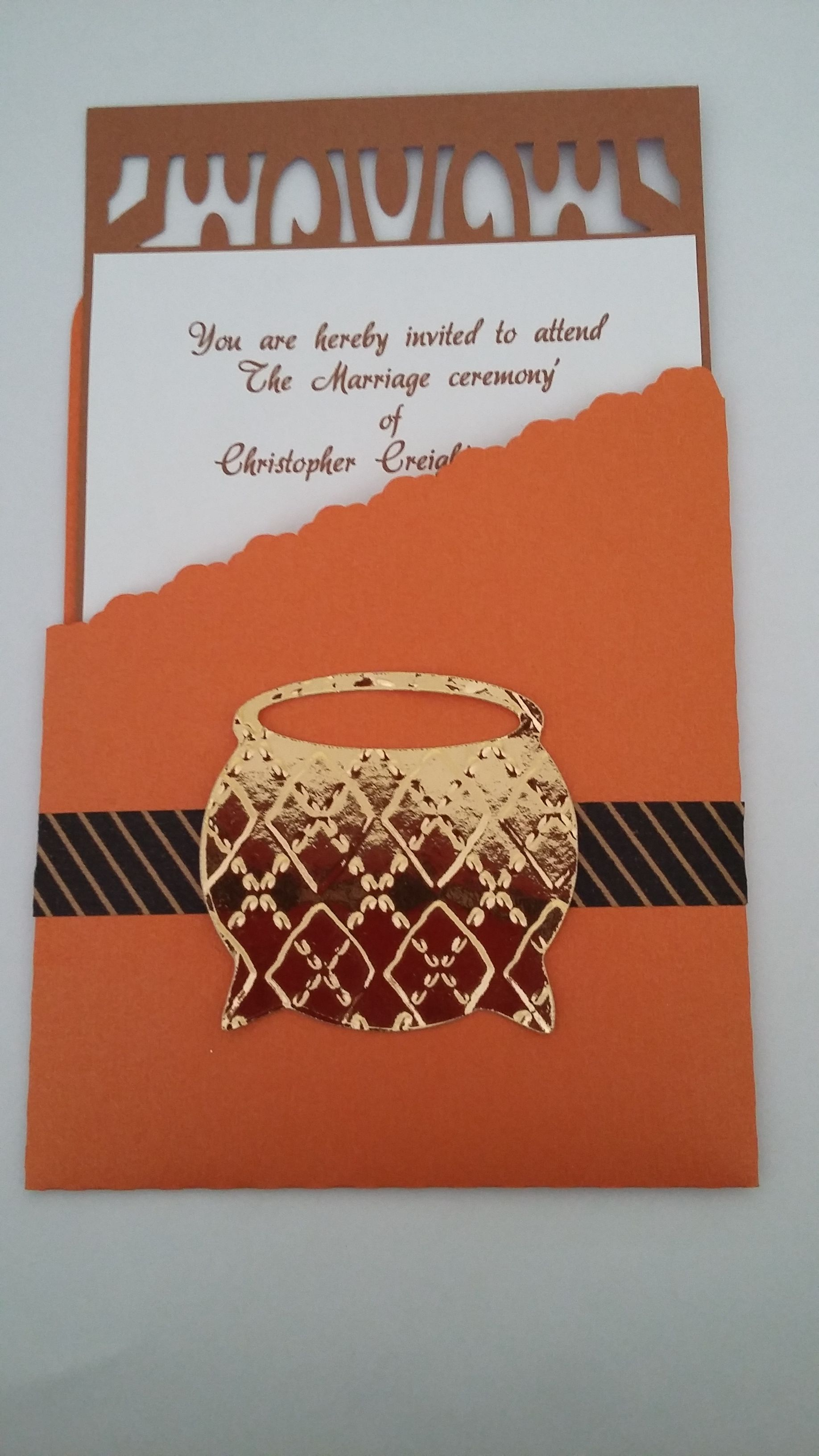 Traditional Zulu Wedding Umembeso Card Copyright Creative Flair
