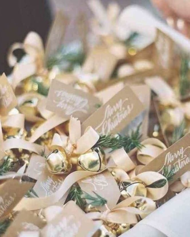 winter wedding bells diy wedding favors or postwedding ceremony idea  plus a collection of easy last minute winter wedding ideas  a curated collection of winter wedding i...