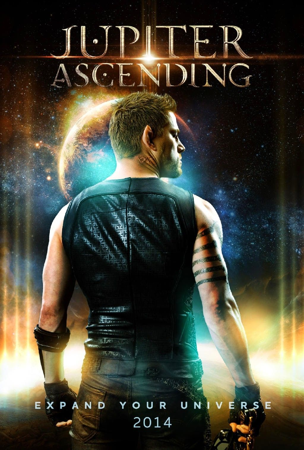 Channing Tatum In Jupiter Ascending 2015 Jupiter Ascending Jupiter Ascending Movie Channing Tatum
