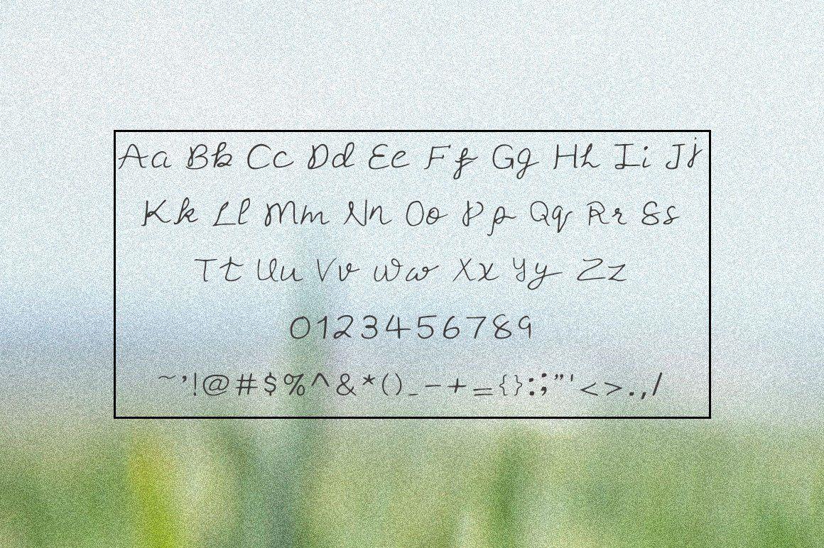 Free Sugar Apple Script Handmade Font in 2020 Handmade