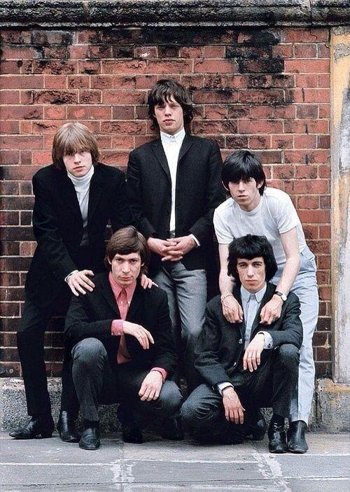 Rian Jones, Mick Jagger, Keith Richards, Charlie Watts, Bill Wyman
