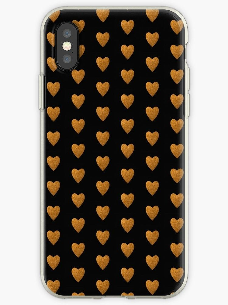 new product 128b2 83f0d Gold Heart' iPhone Case by ARTStudio88 in 2019 | Cases iPhone and ...