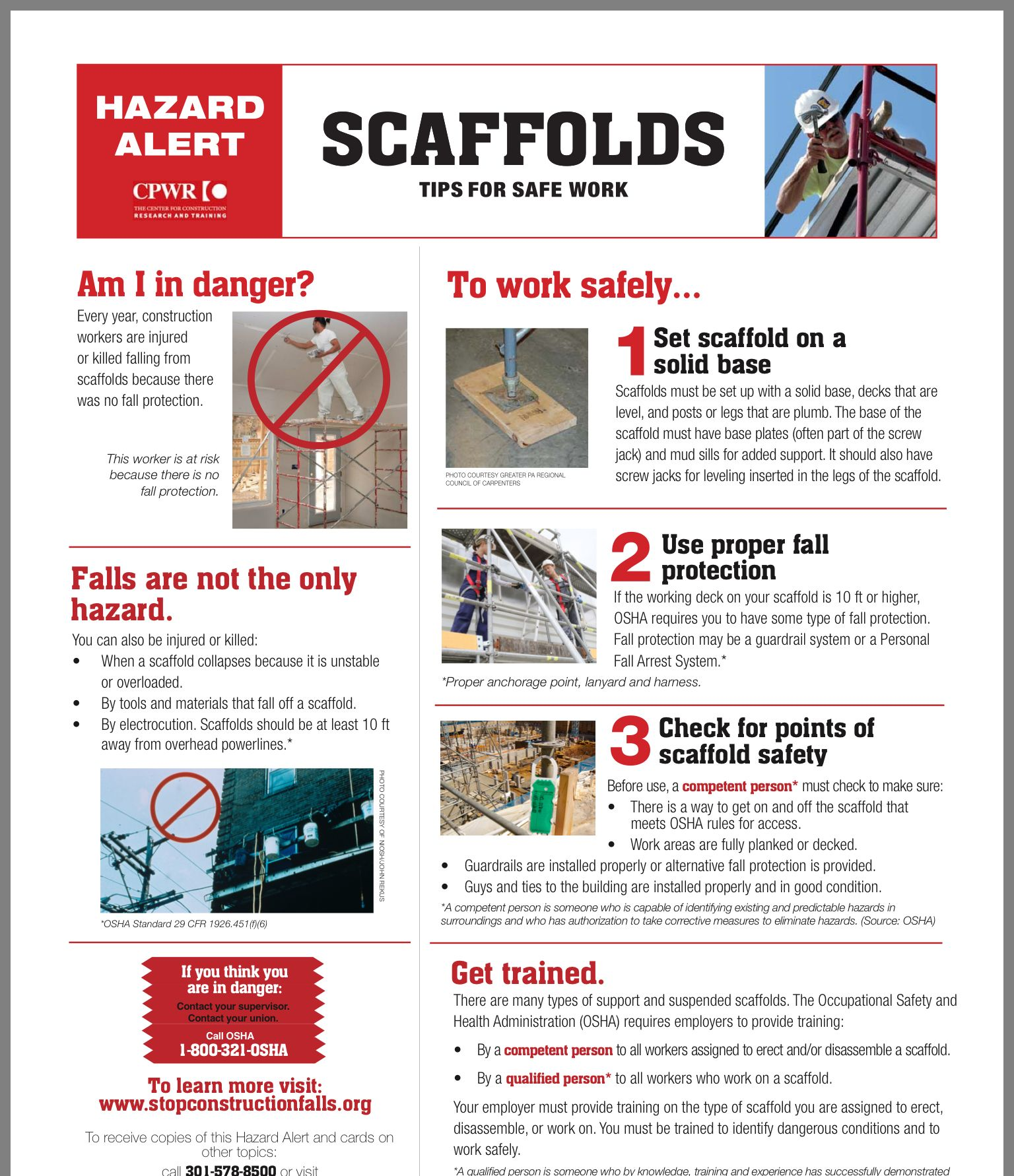 Pin by Kim on Ladder Construction worker, Scaffolding, Deck